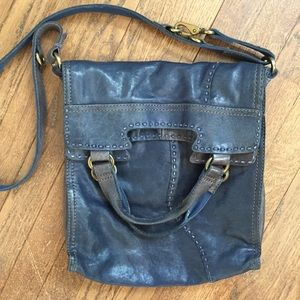 Lucky large foldover tote